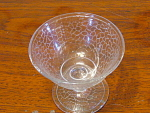 Crystal Clear Depression Era Glass Sherbet