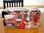 Mib Twelve Days Of Christmas Glass Set By Indiana Glass