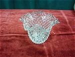 U.s. Glass Hobbs Hobnail Vase