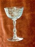 Lenox Glass Navarre Pattern Tall Sherbet