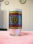 1970s Arbys Famous Stained Glass Collectible Glass