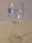 Demoor Winery Wine Glass