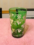 Libbey Glass Forest Green Juice Glass