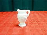 Old Milk Glass Pitcher Or Individual Creamer