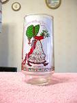 1980s Hollie Hobbie Coca Cola Holiday Glass 3