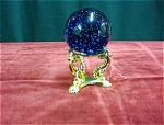 Cobalt Blue Glass Paperweight