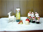 Collection Of 7 Christmas Collectibles