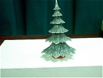German Styrene Plastic Christmas Tree