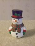 Christmas Snowman Salt And Pepper Shaker Nester Set