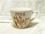 2 Cup Moms Work Is Never Done Mug