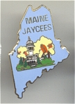 Maine State Jaycees Pin