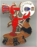 On To Nashville Maine Lobster 1979 Jaycees Pin