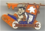 Ohio Jaycees Fred Flintstone Pin