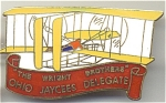Ohio Wright Brothers Jaycees Pin