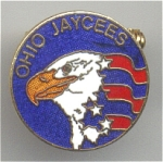 Ohio American Eagle Jaycees Pin