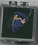 U.s. Jaycess Vice President Pin With Case