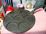 Dorin Valu Cast Iron Pleft Pan, 7 Inserts