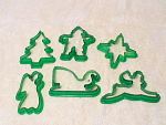 Christmas Time For Cookies 6 Different Cutters