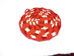 1950s Crocheted Cotton Potholder