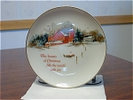 Lasting Memories Christmas Collector Plate