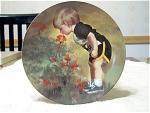 Grandmas Garden Decorative Collector Plate