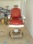 Vintage Barbershop Chair, Circa 1940s To 1950s