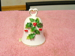 Napco Ware Holly Christmas Bell