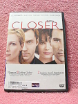 Closer Dvd Disc With Case