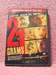 21 Grams Dvd Disc With Case