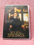 Warm Springs Dvd Disc With Case