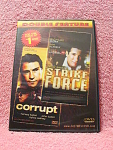 Corrupt & Strike Force Double Feature Dvd