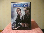 Miami Vice Unrated Director Cut Dvd Disc With Case