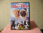 Milo And Otis Dvd Disc With Case