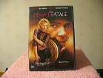 Femme Fatale Dvd Disc With Case