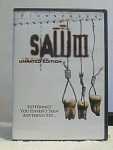 Saw 3, Unrated Edition Dvd Disc With Case