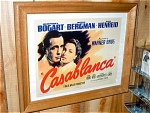 Casablanca Miniature Replica Movie Poster