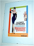 Breakfast At Tiffanys Miniature Replica Movie Poster
