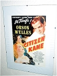 Citizen Kane Miniature Replica Movie Poster