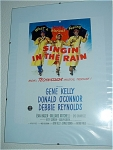 Singin In The Rain Miniature Replica Movie Poster