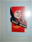 Sunset Boulevard Miniature Replica Movie Poster