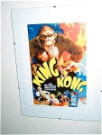 King Kong Miniature Replica Movie Poster