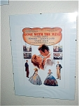 Gone With The Wind Miniature Replica Movie Poster