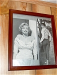 Audrey Hepburn, Marilyn Monroe Framed Picture From Maga