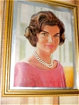 Jacqueline Kennedy Framed Picture From Magazine