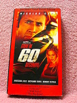 Gone In 60 Seconds Video Tape