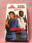 Lethal Weapon 3 Video Tape