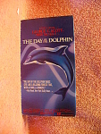 The Day Of The Dolphin Video Tape