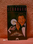 Scrooged Vhs Tape