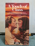A Touch Of Class Vhs Tape