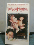 The Age Of Innocence Vhs Tape